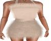 Feathery Cream Dress