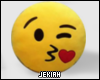 Emoji Pillow Kiss