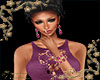 Sharon Jewelry Set Purpl