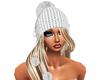 Wht Winter Hat/Hair