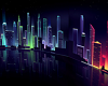 Neon City backdrop