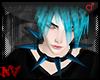 ✚Spike Blue-Collar