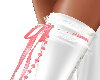 Garter Pink/White Right