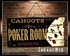 Cahoots Poker Art Sign