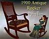 Antique 1900 Rocker Mix