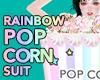 RAINBOW POPCORN SUIT