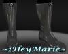 ~HM~PVC Boots P1 Silver