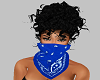 Blue Bandana Face