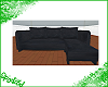 Black Suede Couch v1