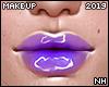 Yvoni Purple Gloss