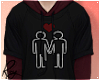 M+M Love Hoodie by Roy