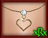 Heart Necklace April