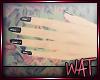 :Wat: Black Glitter