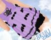 Batty Shirt Purple