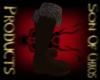 Bear skin boots (F)