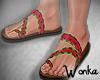 W° Watermelon Sandals
