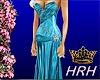 HRH Silk Blue Crystals