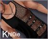K  Mel black tank M