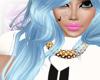 # Kardashian Blue