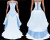 True Blue Victorian Gown