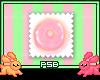 PinkSugar Doughnut Stamp