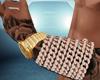 ✘ Rose Gold Bracelet L