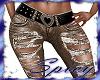 $ Torn Heart Belt Jean B