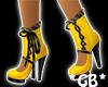 Black n Gold Stiletto's