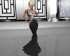 Black & Silver Gown