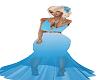 ( SW ) BABY BLUE DRESS