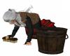 Medieval Floor Scrubbing
