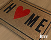 "Iv""home sweet home rug"