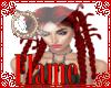 red medusa hair