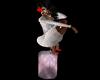 Pink Crystal Stool