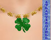 (AG)Shamrock Necklace
