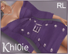K Blazor purple dress RL