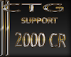CTG SUPPORT 2000 CR