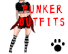 Punker Outfits Red