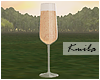 |K Champagne Glass