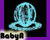~BA Cyan Sparkle Orb