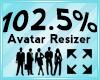 Avatar Scaler 102.5%