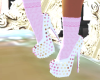 Pumps w/Socks-Neopolitan