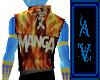 Manga Flame Vest