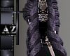 *az*purple fur coat