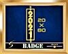 2021 Gold Vert. Badge