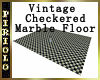 Checkered Floor-Marble