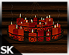 SK| Candle Chandelier