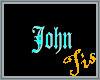 (Tis) Floor Tag - John