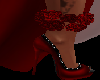Red Roses Anklet Right