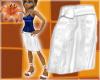 Beach Skirt White Linen